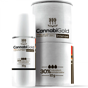 CANNABIGOLD INTENSE 3000MG HUILE DE CHANVRE CBD 12ML