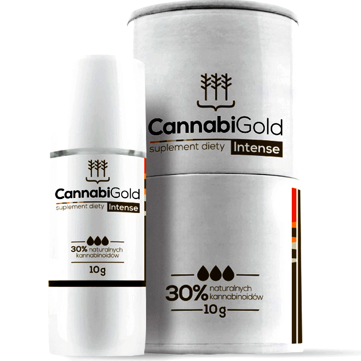 CANNABIGOLD INTENSE 3000MG CBD HUILE DE CHANVRE 12ML
