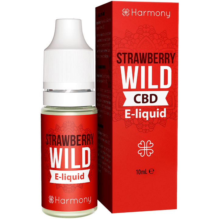 HARMONY STRAWBERRY WILD E-LIQUIDE DE CHANVRE AVEC CBD 10ML