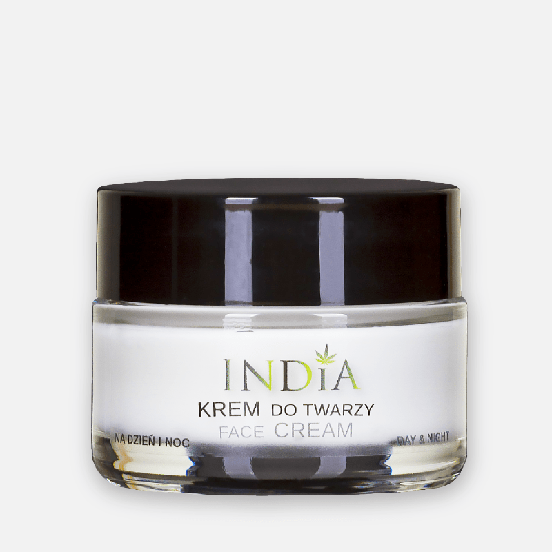 India Cosmetics Krem do twarzy 50ml