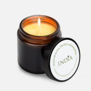 India Cosmetics Bougie de chanvre 90 g